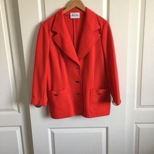 Butte Knit Vintage Red Blazer